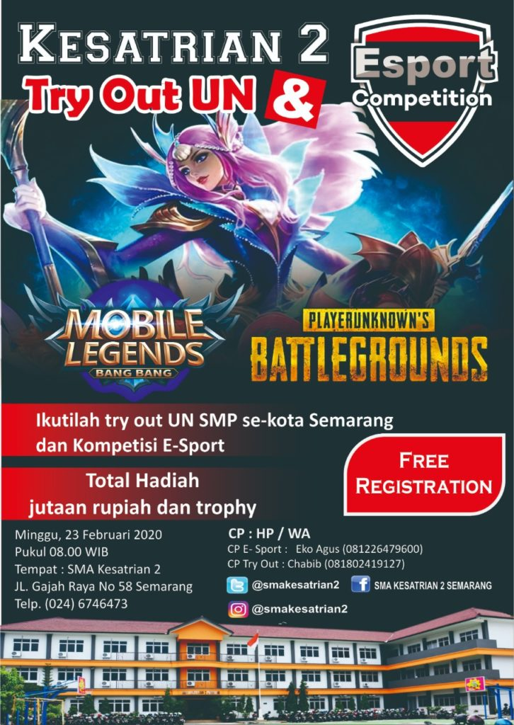 try out dan esport competition